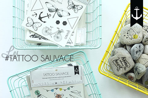 #TATTOOSAUVAGE sur le shop!