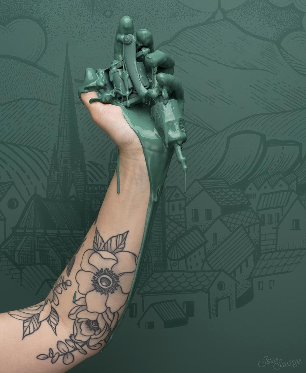 salon du tatouage de clermont ferrand jesus sauvage. Black Bedroom Furniture Sets. Home Design Ideas