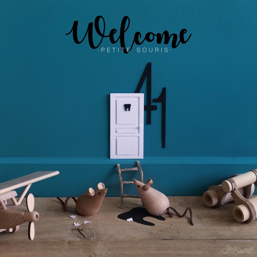 J Ai Une Souris Chez Moi welcome petite souris ! #diy - jesus-sauvage
